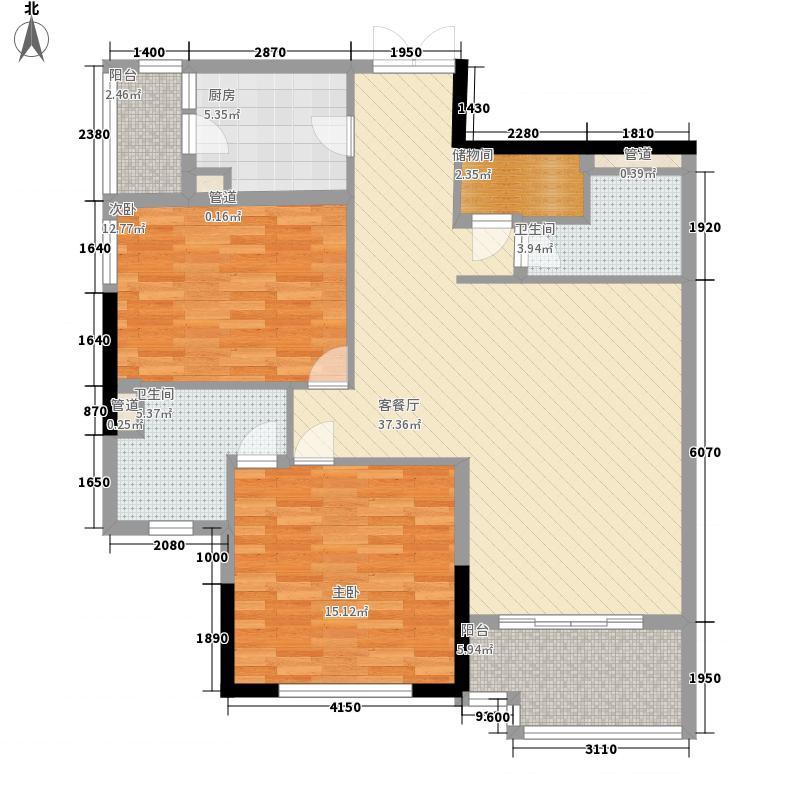 滨江1933128.21㎡滨江1933三室户型10室