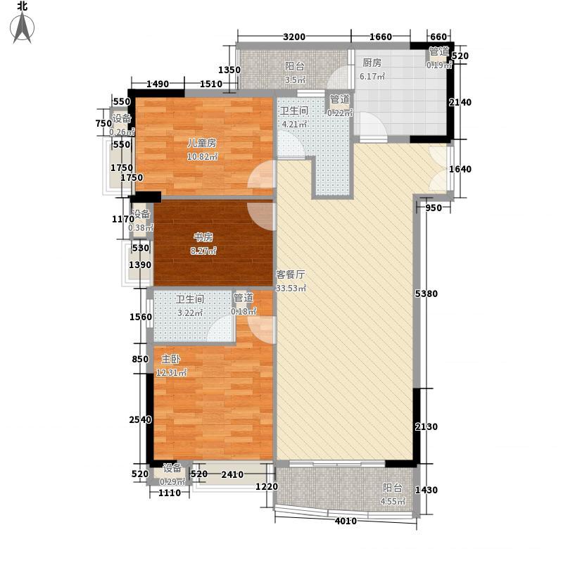 中惠雅苑113.20㎡中惠雅苑户型图西塔03户型3室2厅2卫1厨户型3室2厅2卫1厨