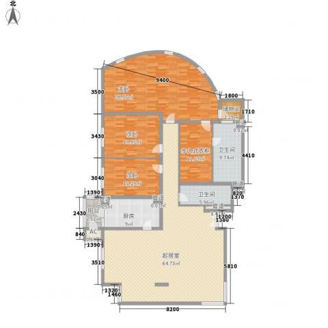 耕天下3室0厅2卫1厨238.00㎡户型图