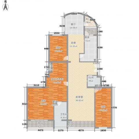 耕天下3室0厅2卫1厨233.00㎡户型图