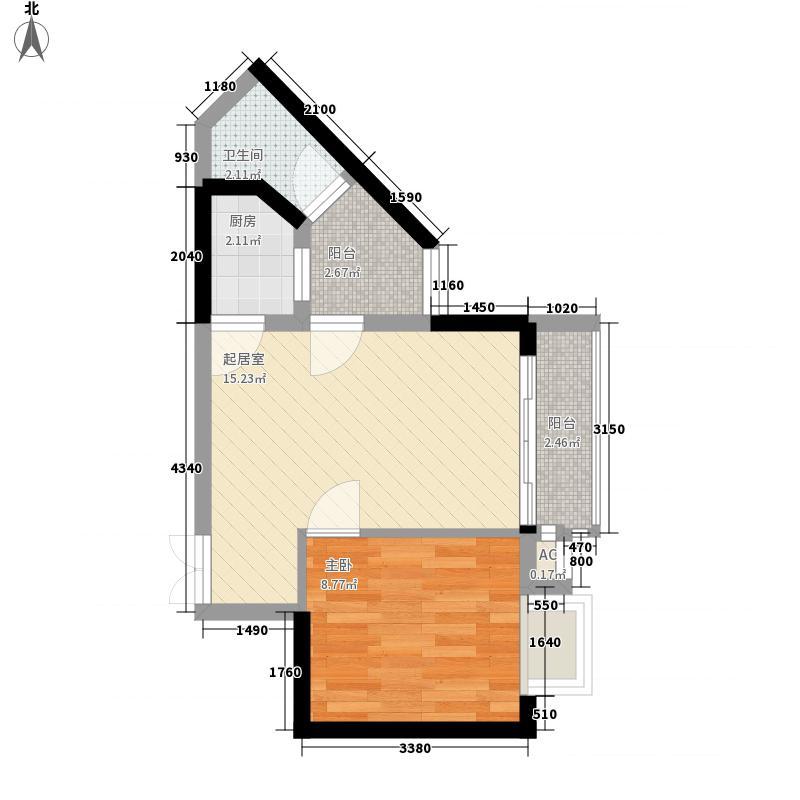 中爱花园中爱花园户型图1室2厅1卫1厨户型10室