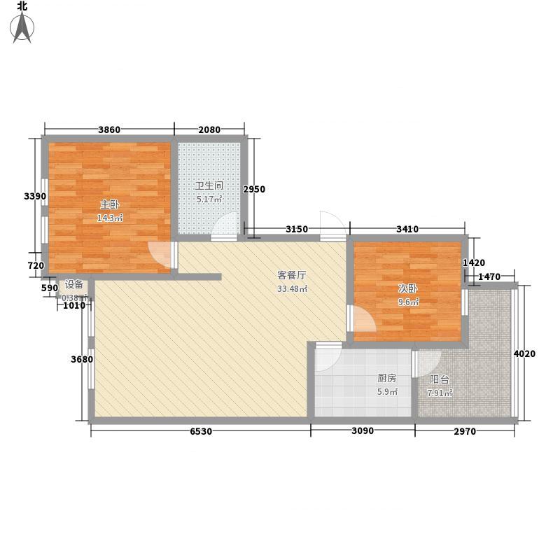 蒙鑫国际名城108.00㎡蒙鑫国际名城户型图户型图2室2厅1卫1厨户型2室2厅1卫1厨