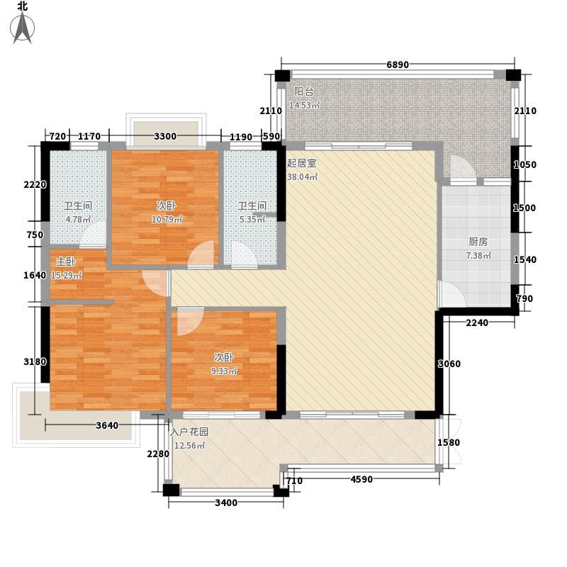 沃华・中环广场135.00㎡沃华・中环广场户型图一座标准层01户型3室2厅2卫1厨户型3室2厅2卫1厨
