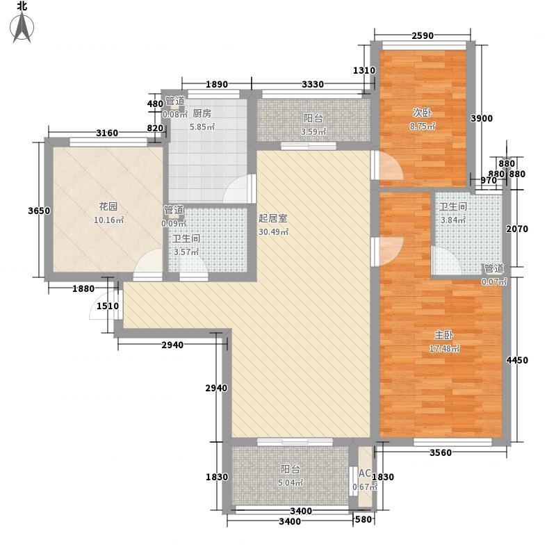 星光城129.00㎡星光城户型图D户型3室2厅1卫1厨户型3室2厅1卫1厨