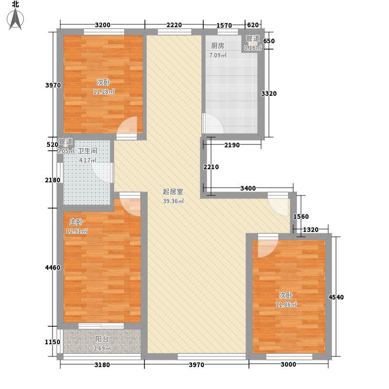 解放路防疫站宿舍67.00㎡解放路防疫站宿舍2室户型2室