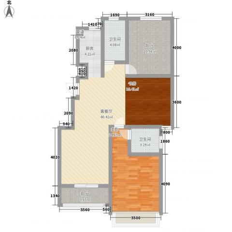 金世湾1室1厅2卫0厨112.00㎡户型图