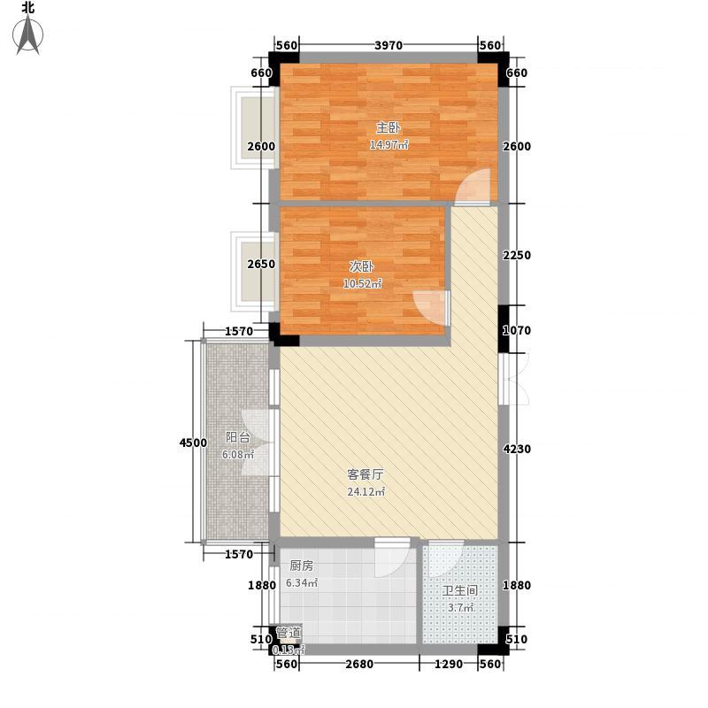 香榭丽舍84.79㎡香榭丽舍户型图户型图2室2厅1卫1厨户型2室2厅1卫1厨