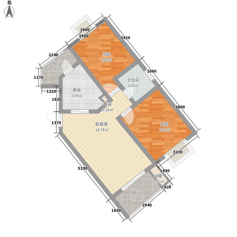中冶祥腾城市广场80.00㎡中冶祥腾城市广场户型图户型图2室2厅1卫1厨户型2室2厅1卫1厨