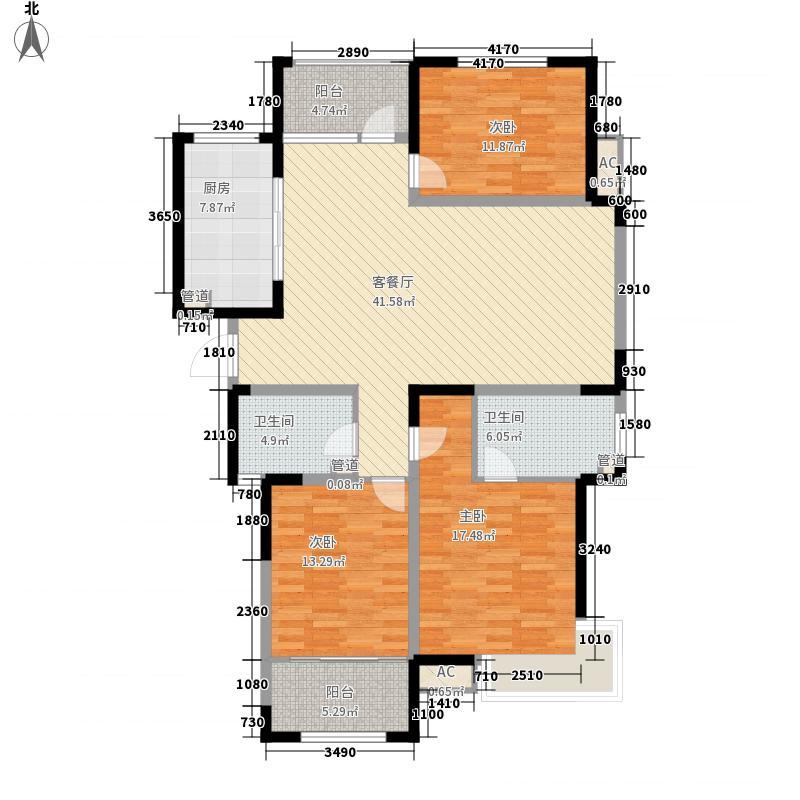 报业文苑163.34㎡163A户型3室2厅2卫1厨