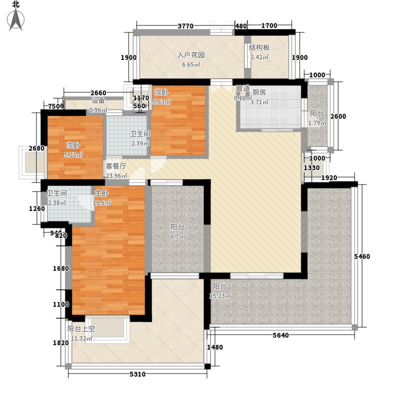 瑞华园 5室 户型图