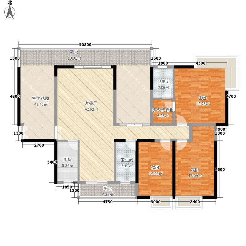 湖光山色17.50㎡1单元0户型3室2厅2卫1厨