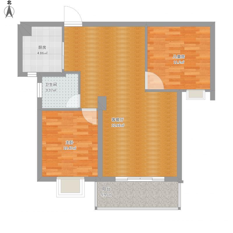 高铁阳光花园531-2702两房