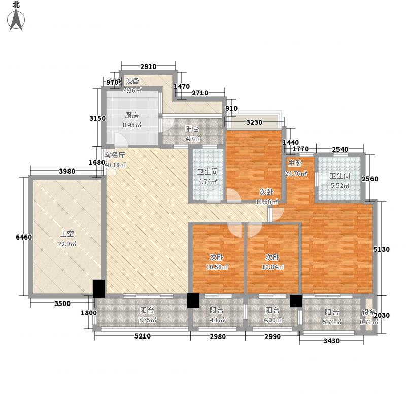 凯旋门180.00㎡凯旋门户型图3座01单元(3-19单数层)4室2厅2卫1厨户型4室2厅2卫1厨