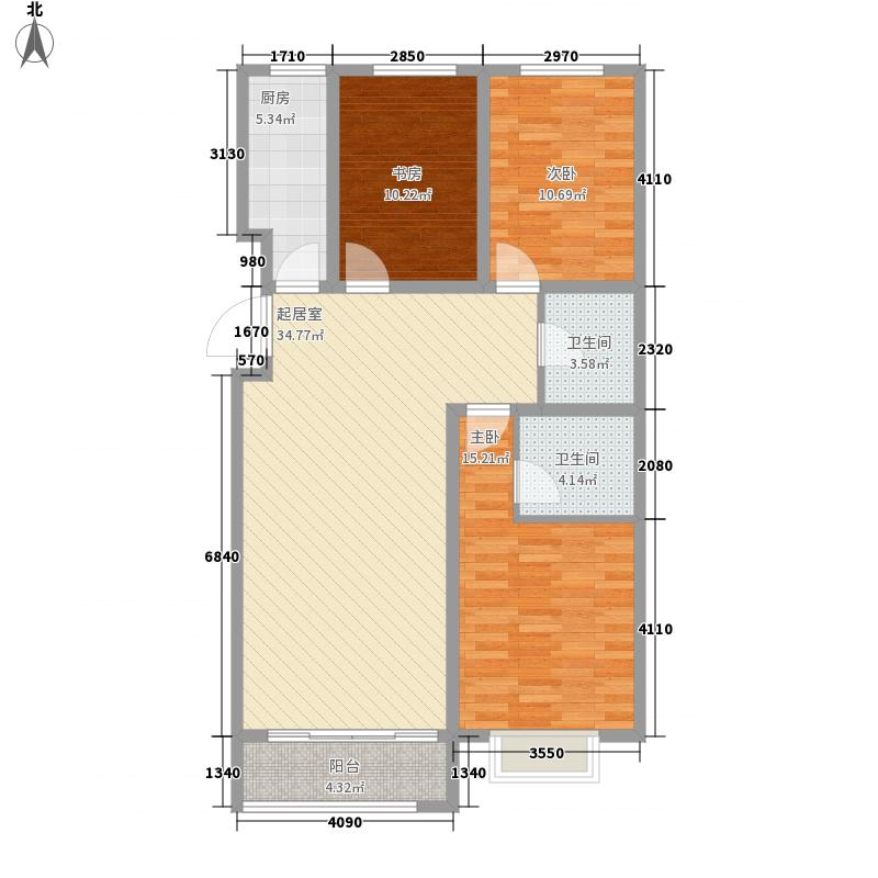 万象520124.60㎡万象520户型图G2124.6平米户型10室