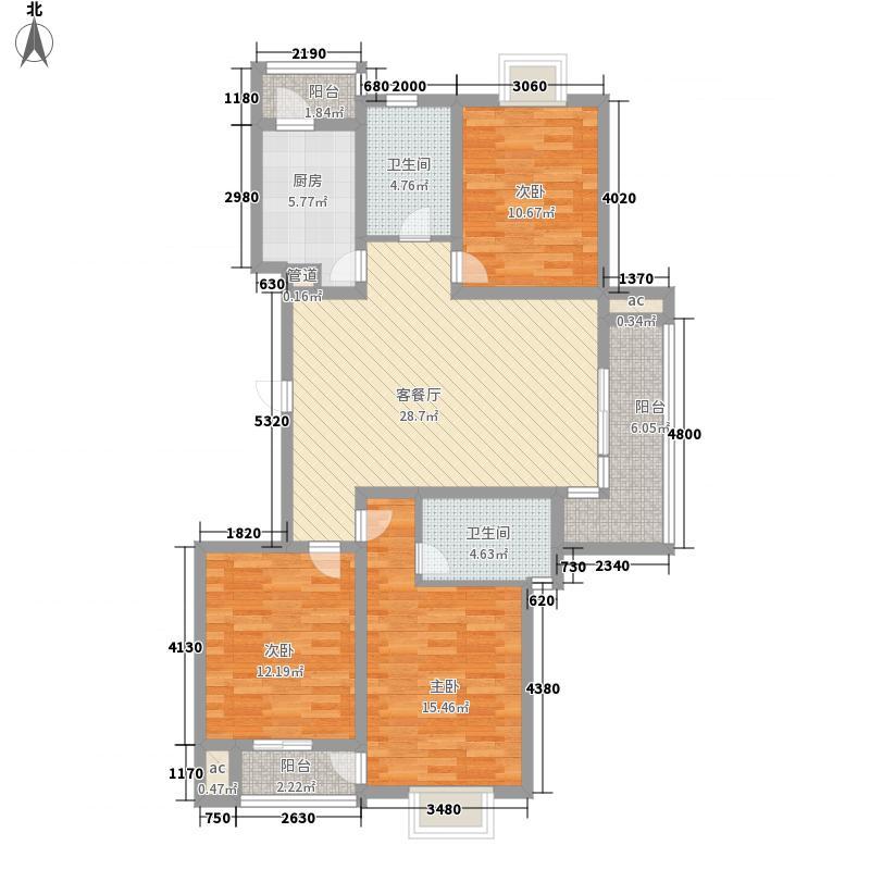 玉兰苑小区136.00㎡玉兰苑小区5室户型5室