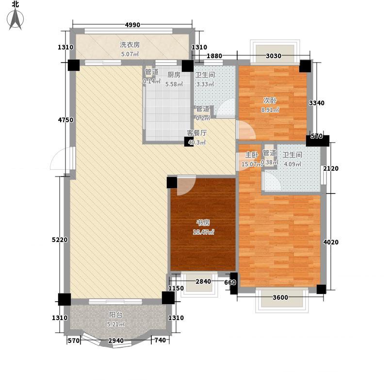 安博南方花园122.07㎡安博南方花园户型图C1户型3室2厅户型3室2厅