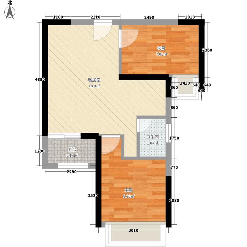 鸿翔花园55.00㎡鸿翔花园户型图7座C03/07户型2室2厅1卫1厨户型2室2厅1卫1厨