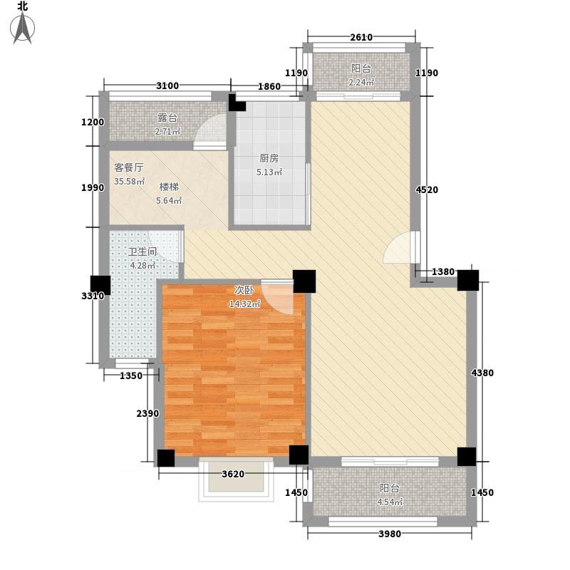 安博南方花园147.68㎡安博南方花园户型图E1跃层(六层)3室3卫户型3室3卫