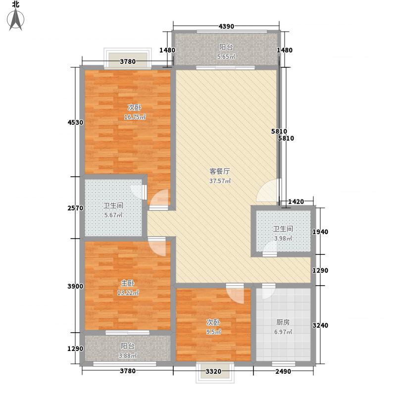 金犀庭苑144.80㎡金犀庭苑144.80㎡1室户型1室
