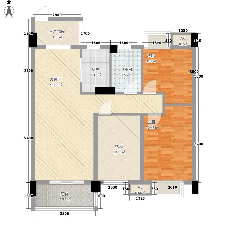 美林山畔公馆1号楼03/2号楼04户型
