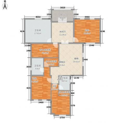 悦府3室0厅3卫0厨181.00㎡户型图