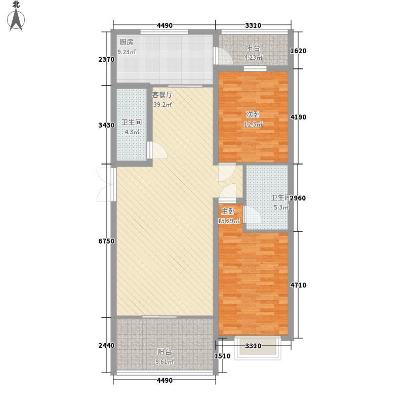 鑫亿城140.12㎡140.12平方米户型3室2厅2卫1厨
