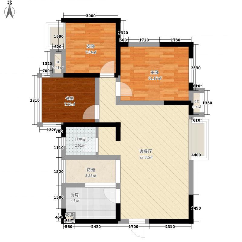 金房央座一期1、2号楼18-20层A1户型10室
