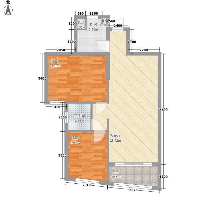 汇展香格里拉85.08㎡汇展香格里拉户型图A-G7已售完户型10室
