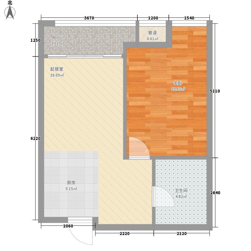富世广场62.34㎡富世广场户型图62.34㎡户型1室2厅1卫1厨户型1室2厅1卫1厨