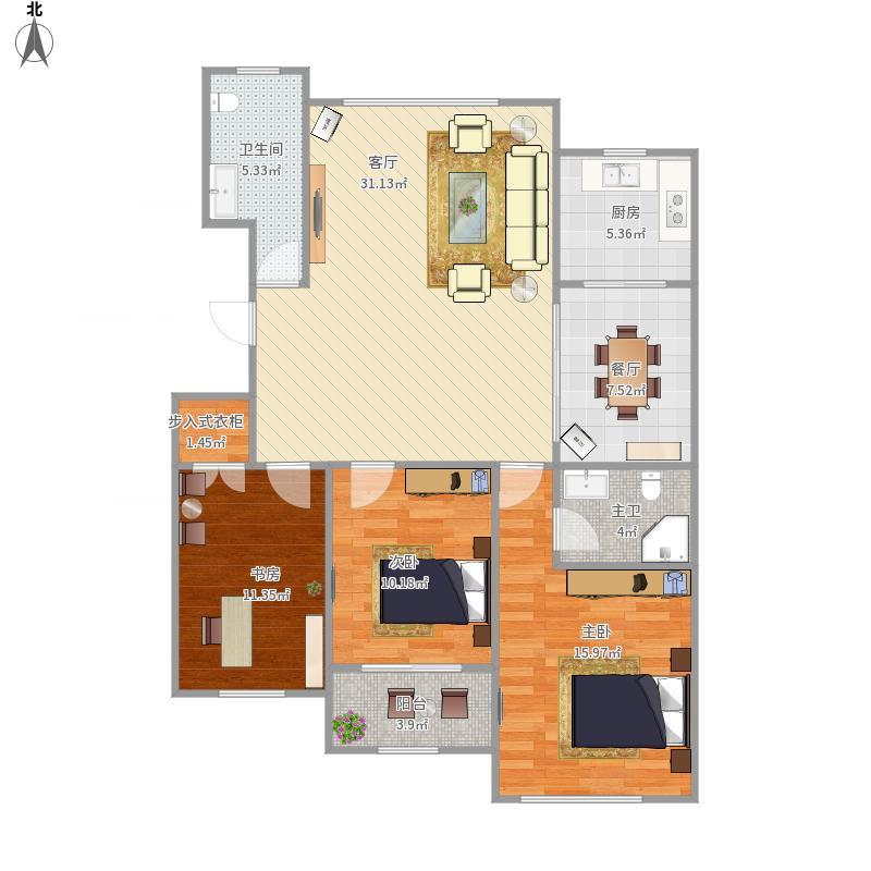 威海-和谐家园-设计方案