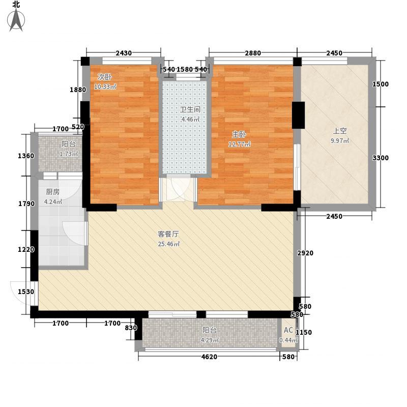 绿洲丰和家园深圳绿洲丰和家园户型图2户型10室
