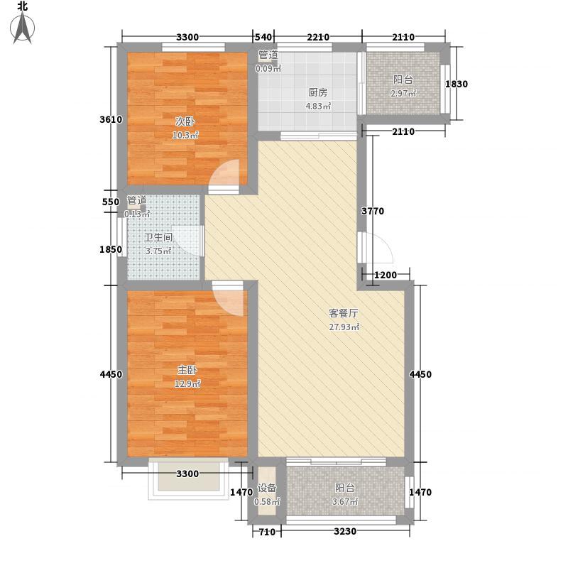 保利百合花园101.92㎡保利百合花园户型图16#B223室2厅1卫户型3室2厅1卫