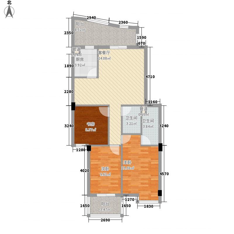 永兴洋房112.56㎡永兴洋房户型图3室2厅2卫1厨户型10室