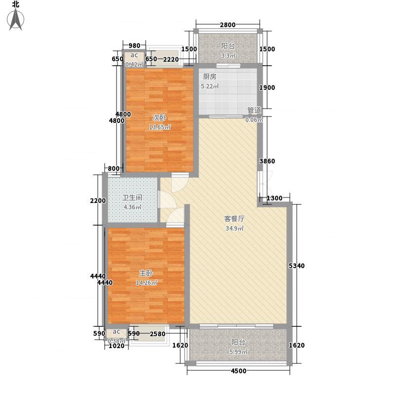 绿源7.00㎡小区户型2室