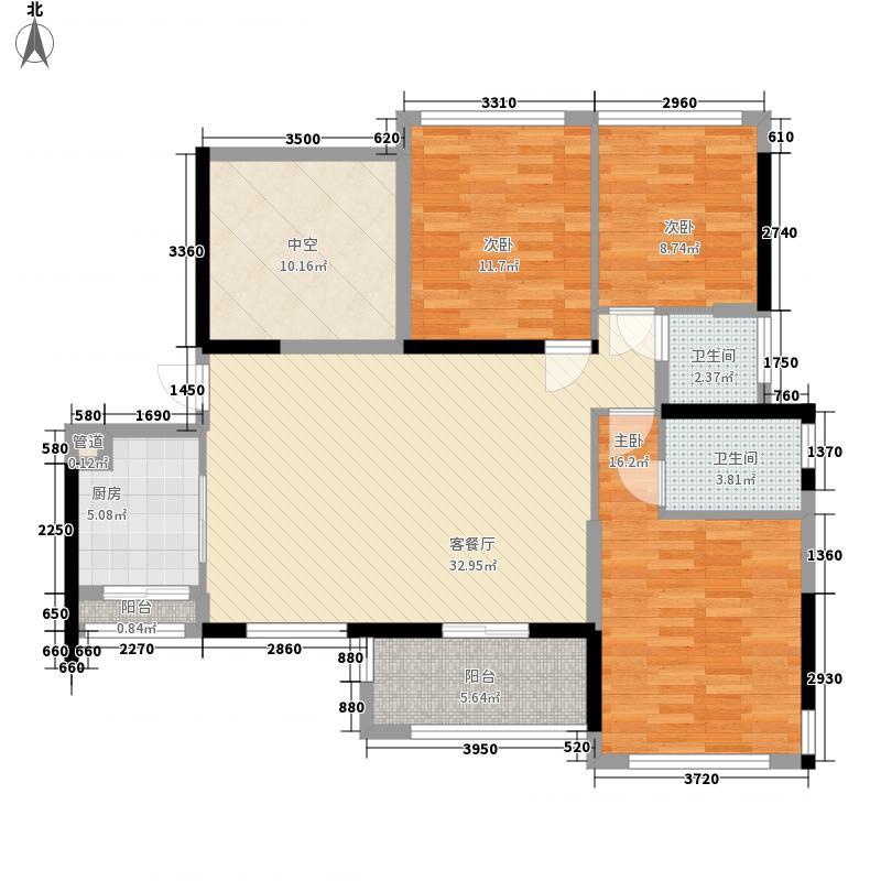 大东城3#楼B单元D户型