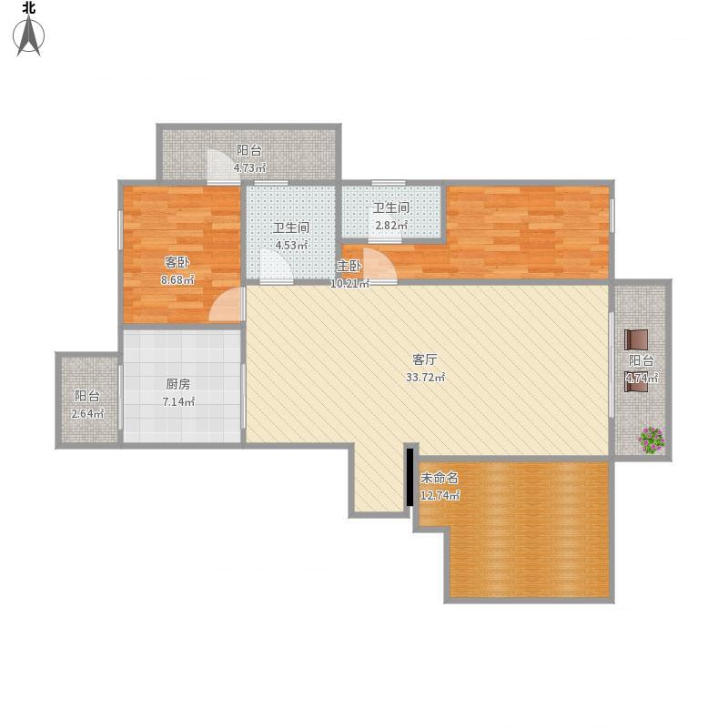 我的设计电业局14,15号楼160平米