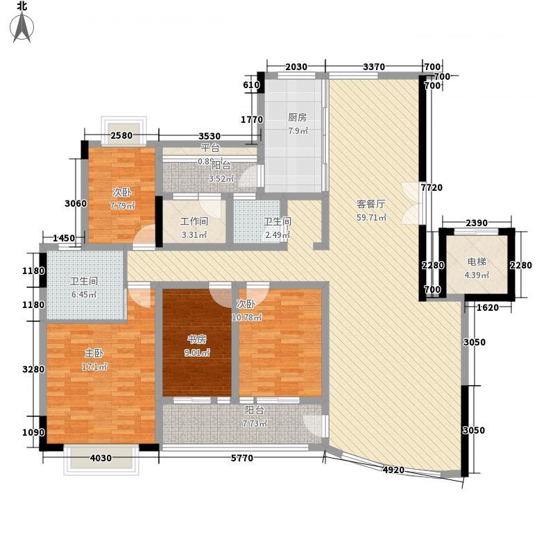 发展兴苑深圳发展兴苑户型图11户型10室