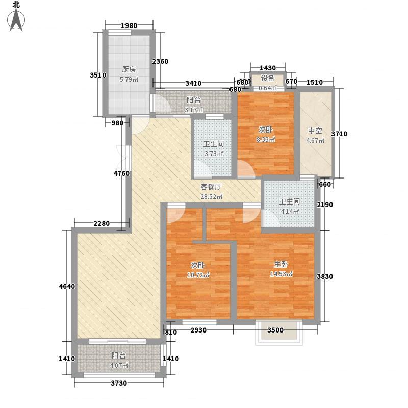 华德力运河城129.00㎡华德力运河城户型图B1-1户型3房2厅2卫1厨3室2厅2卫1厨户型3室2厅2卫1厨