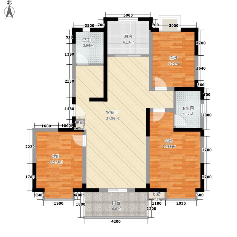 南湖春城135.00㎡南湖春城户型图22#C户型3室2厅2卫1厨户型3室2厅2卫1厨