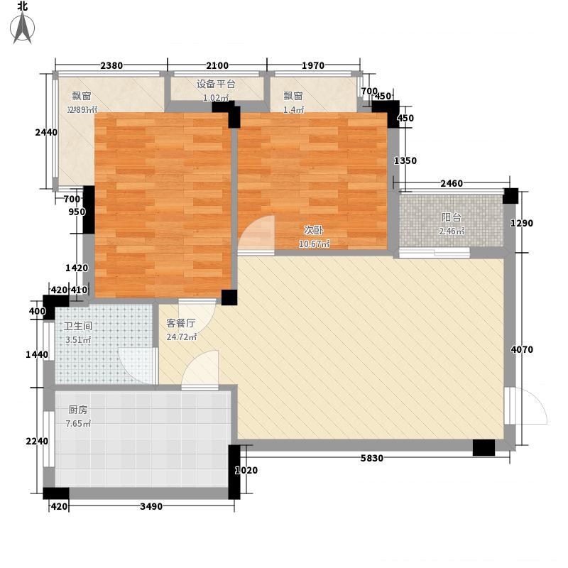 百丰花园3号楼1-2单元0户型