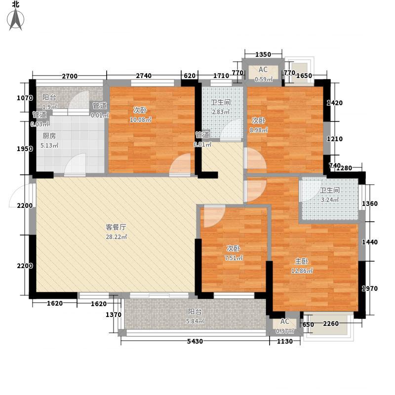 光谷坐标城九期72、75、76、77、78号楼F户型