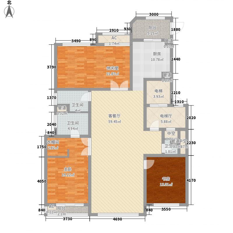 垠禄新界公馆D户型4室2厅2卫1厨