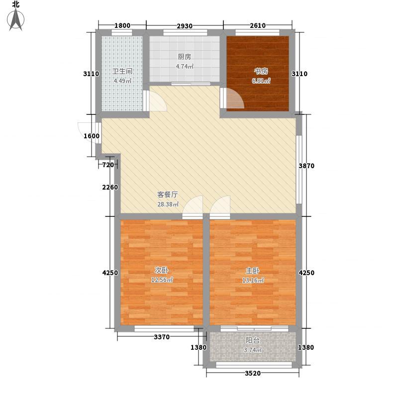 华安世纪樱园四期高层40/41#楼H1户型