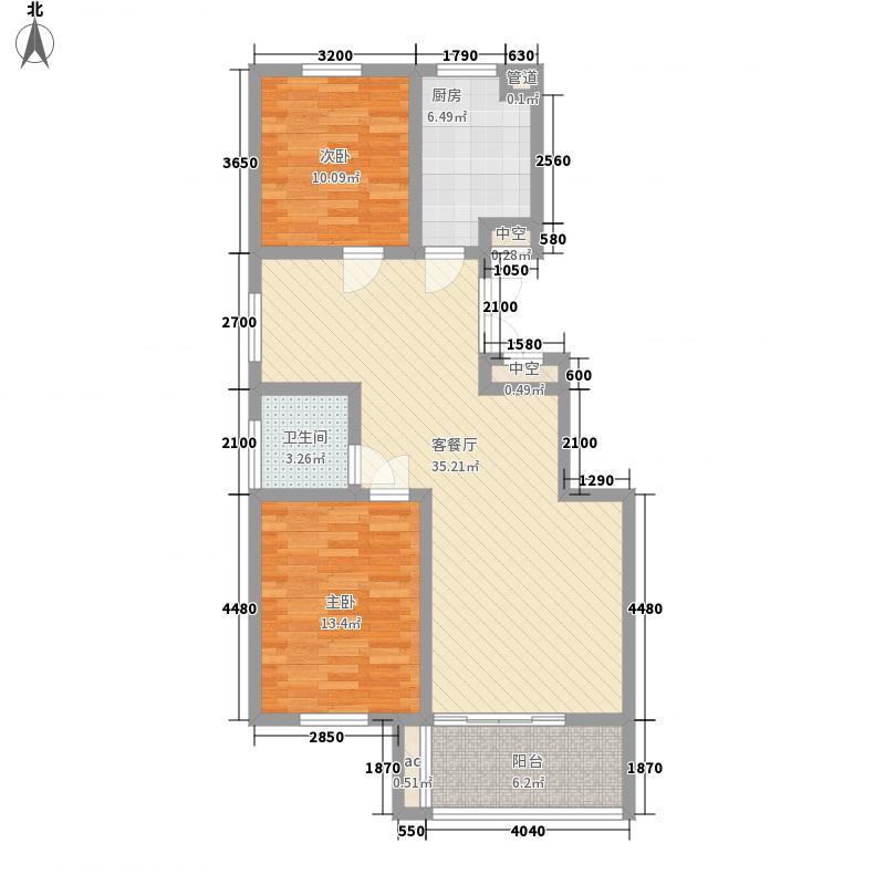 维多利橄榄城98.63㎡维多利橄榄城户型图1#A户型2室2厅1卫1厨户型2室2厅1卫1厨