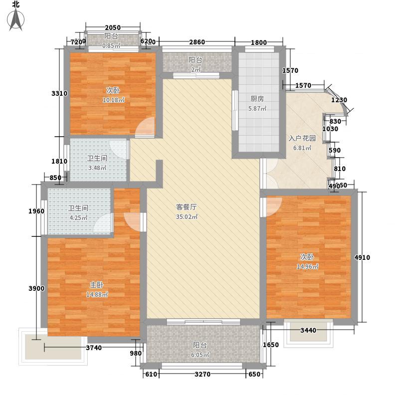 恒基・都市森林149.69㎡恒基・都市森林B3室2厅2卫1厨149.69㎡户型3室2厅2卫1厨