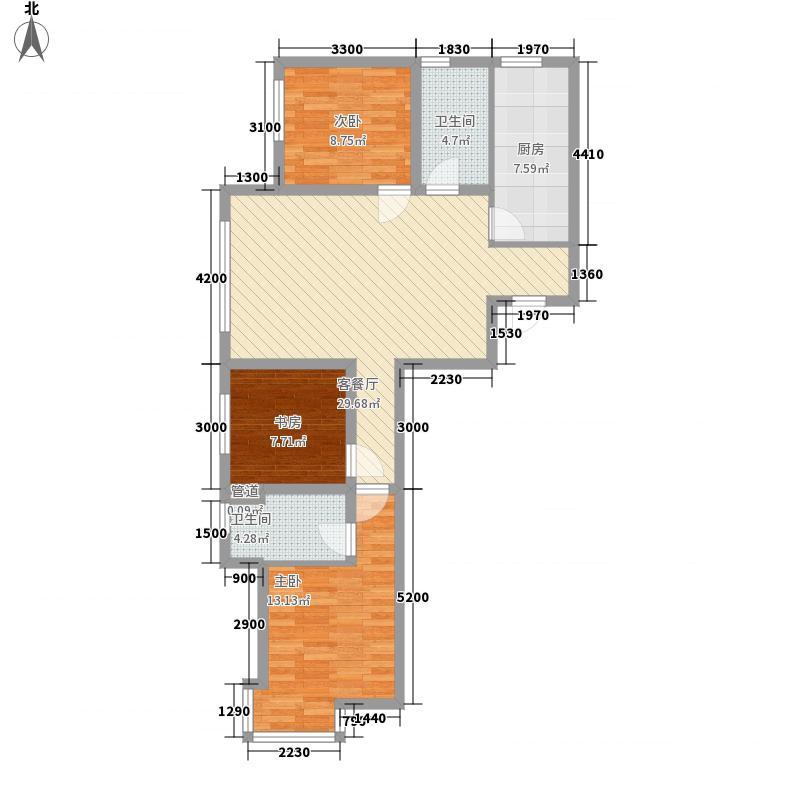 外滩叁号112.15㎡外滩叁号户型图F户型3室2厅2卫1厨户型3室2厅2卫1厨