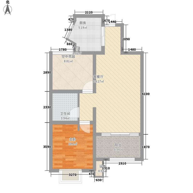 领秀・珊瑚湾高层70#A1户型