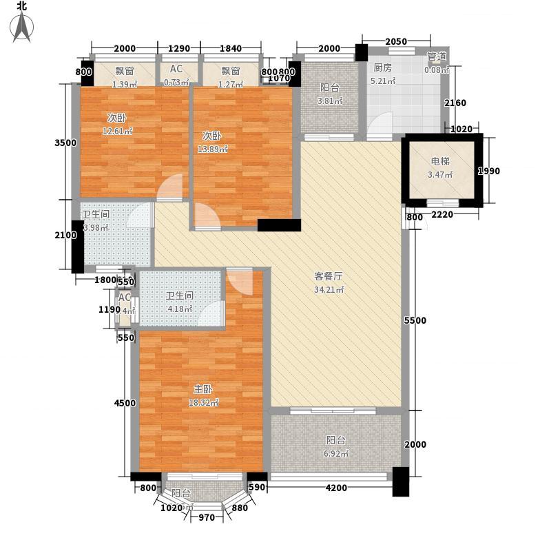 金色华庭81.00㎡金色华庭一期2室户型2室