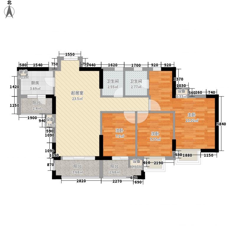 厚街东港城 3室 户型图