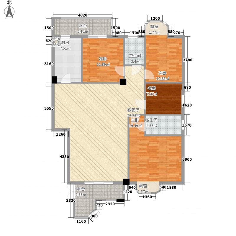 信义一号长安信义一号3室户型3室